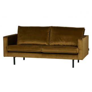 Rodeo Soffa 2,5-sits honey yellow