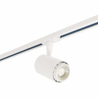 Velo led track light, 1-fas, vit, 8W, 230V