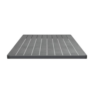 Bordsskiva Aluminium grå 70x70 20mm
